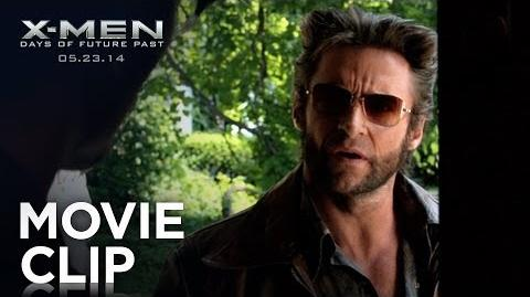 "X-Men Days of Future Past ""Wolverine Meets Beast"" Clip HD 20th Century FOX"