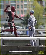 Deadpool set photo 2