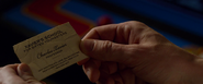 Charles Xavier Business Card (X-Men Apocalypse)