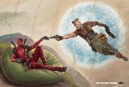 Deadpool 2 The Second Coming poster