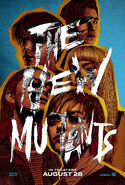 The New Mutants Poster with fifth release date