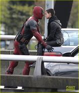 Deadpool set photo 3