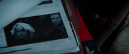Photo of Storm and Logan from X3 in front of Jean Grey's Home (Yashida Surveillance Photo - Wolverine File)