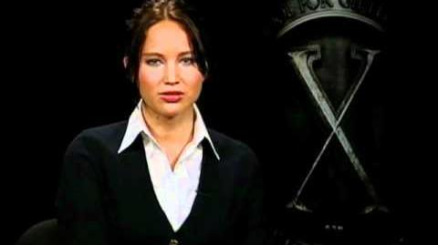 X-Men First Class Jennifer Lawrence Interview