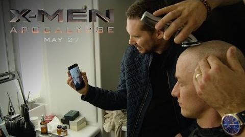 "X-Men Apocalypse ""James McAvoy Becomes Professor X"" Featurette HD 20th Century FOX"