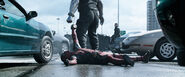 Deadpool Dragged By Colossus