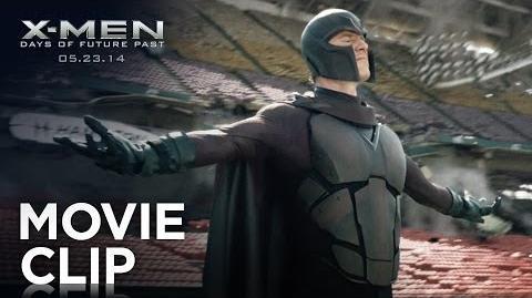 """X-Men Days of Future Past """"Stadium Levitation"""" Clip HD 20th Century FOX"""