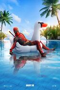 Deadpool 2 Swan Poster