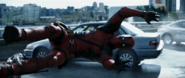 Deadpool Being Thrown