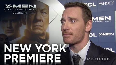 X-Men Days of Future Past New York Premiere Highlights