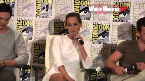 Jennifer Lawrence Hilarious Response at 'X Men Days of Future Past' Comic Con 2013