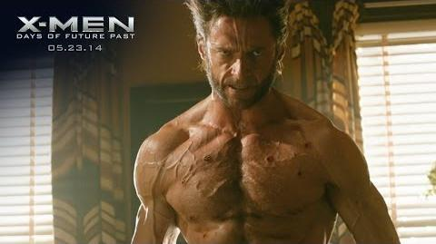 "X-Men Days of Future Past ""Wolverine"" Power Piece HD 20th Century FOX"