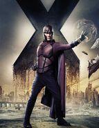 XMDOFP Fassbender Magneto Character Poster