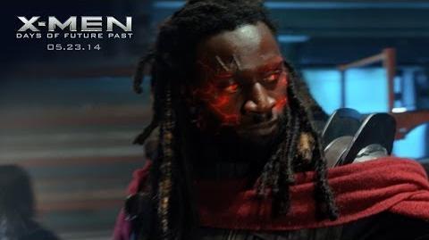 """X-Men Days of Future Past """"Bishop"""" Power Piece HD 20th Century FOX"""