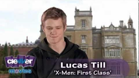 Lucas Till 'X-Men First Class' Interview