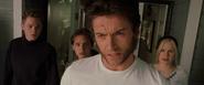 Iceman, Pyro & Rogue stunned at Logan's revival (X2 - 2003)