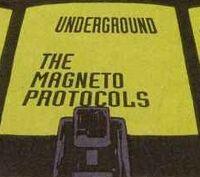 UndergroundMagnetoProtocols