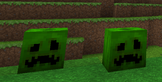 Creeper Pumpkins