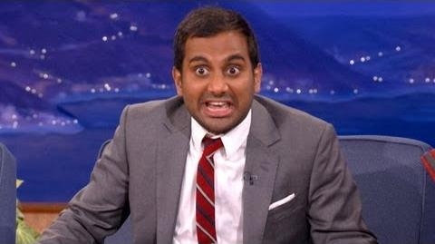 Aziz Ansari Knows How To Handle Bullies - CONAN on TBS