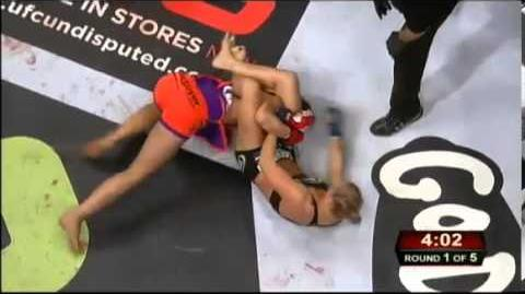 Miesha Tate vs Ronda Rousey Strikeforce