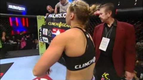 Ronda Rousey vs. Julia Budd