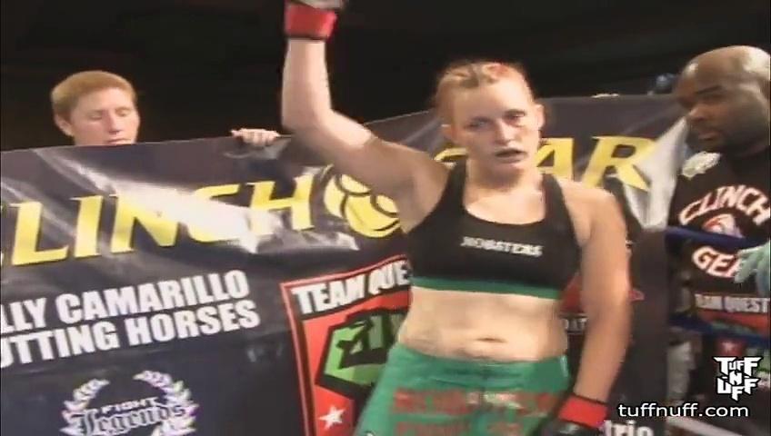 Tuff-N-Uff Ronda Rousey vs Autumn Richardson