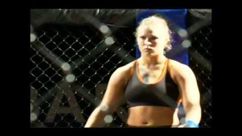 Ronda Rousey vs Charmaine Tweet w Commentary
