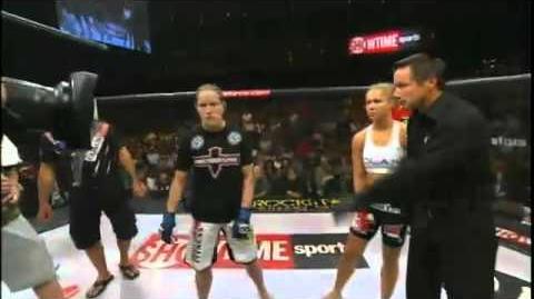 Ronda Rousey vs Sarah D'Alelio