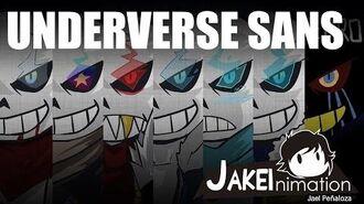 UNDERVERSE (Undertale Sans AUs PILOT) by Jakei
