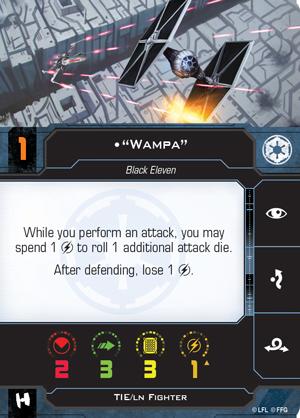 Wampa Pilot Card