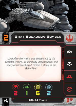 Y-Wing Gray
