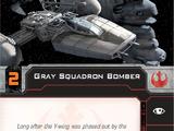 Gray Squadron Bomber