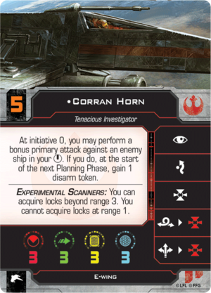 E-Wing Horn