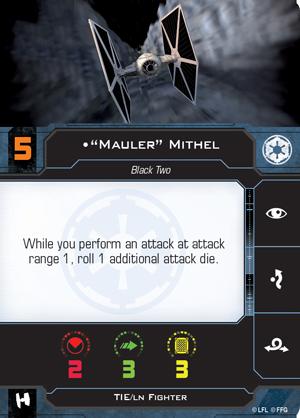 Mauler Mithel Pilot Card