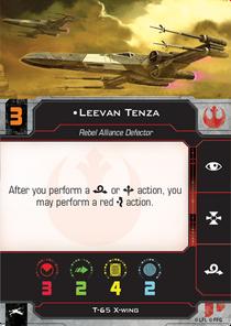 Leevan Tenza Pilot Card