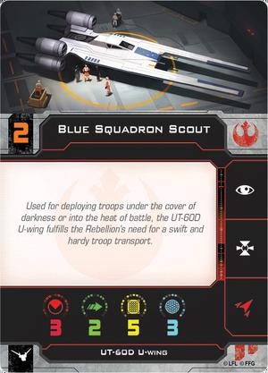 U-Wing Blue