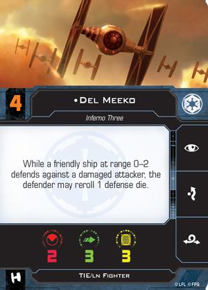 Del Meeko Pilot Card