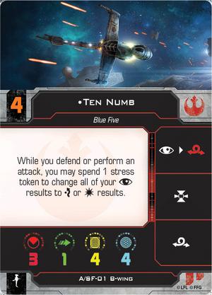 B-Wing Numb