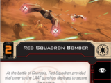 Red Squadron Bomber
