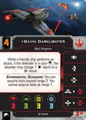 Gavin Darklighter Pilot Card