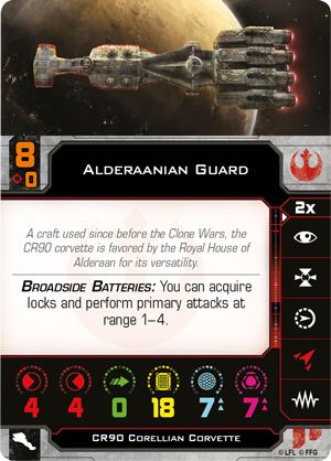 Swz55 alderaanian-guard card