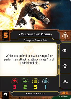 Kihraxz Cobra