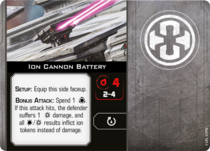 Ion Cannon Battery