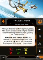Swz63 a1 card kazuda-xiono