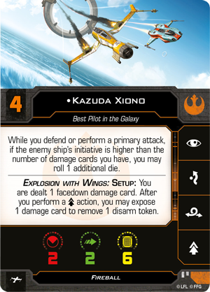 Image result for kazuda xiono x wing