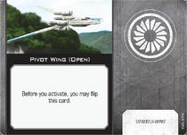 Pivot Wing Open