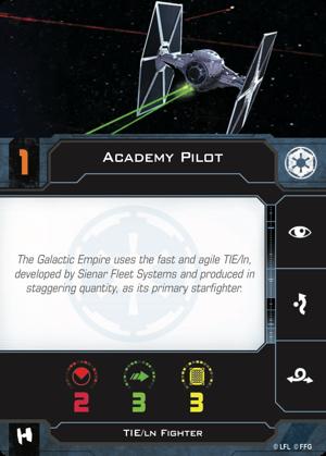 Academy Pilot Pilot Card
