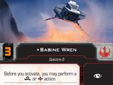 Sabine Wren (Attack Shuttle)