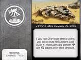 Rey's Millennium Falcon