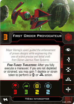 Swz62 card first-order-provocateur